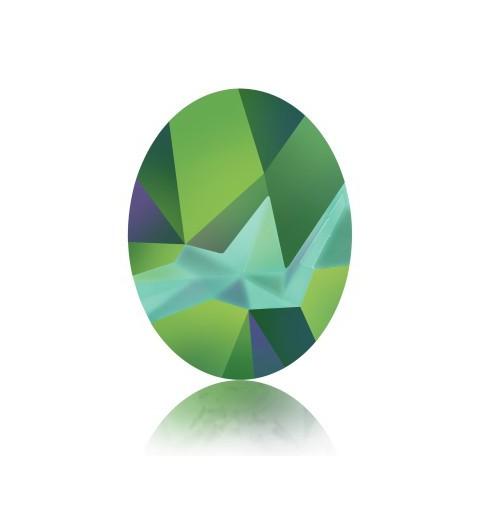 29x22.5mm Crystal Scarabaeus Green F (001 SCGR) Kaputt Oval Ehete Kristall 4921 Swarovski Elements