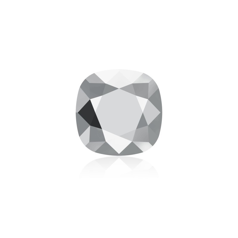 10mm 4470 Crystal Light Chrome F (001 LTCH) Cushion Square Fancy Stone Swarovski Elements