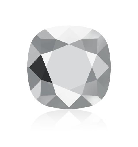 12mm 4470 Crystal Light Chrome F (001 LTCH) Padjakujuline Ruudune Ehte Kristall Swarovski Elements