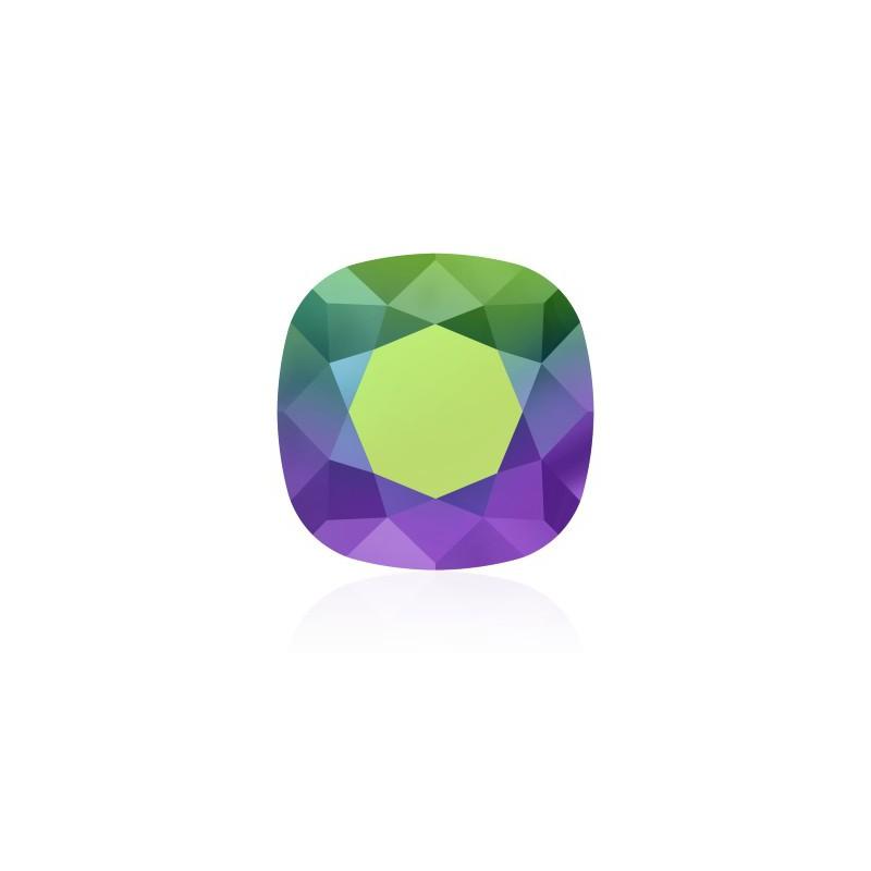 10mm 4470 Crystal Scarabaeus Green F (001 SCGR) Подушкообразный Квадратный Кристалл для украшений Swarovski Elements