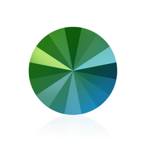SS47 (~10.70mm) Crystal Scarabaeus Green F (001 SCGR) 1122 Rivoli SWAROVSKI ELEMENTS