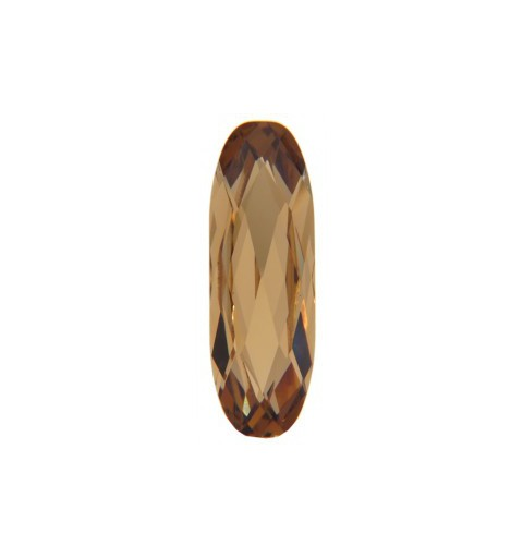 21x7mm Light Colorado Topaz F (246) Long Classical Oval Fancy Stone 4161 Swarovski Elements
