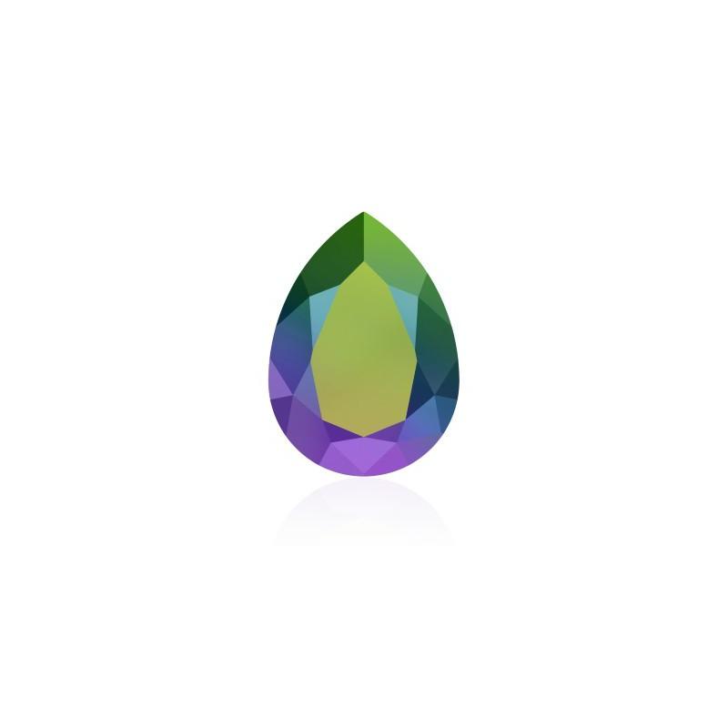 14x10mm Emerald F (205) Pear-Shaped Fancy Stone 4320 Swarovski Elements