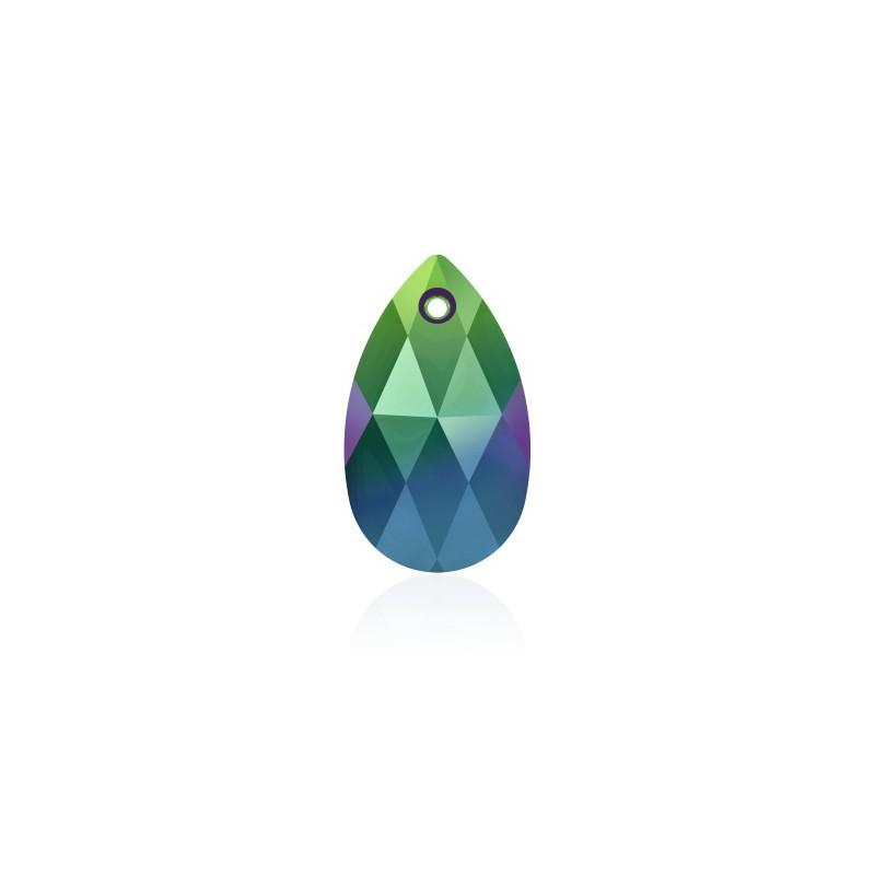 22MM Crystal Scarabaeus Green (001 SCGR) Подвески 6106 грушевидные SWAROVSKI ELEMENTS