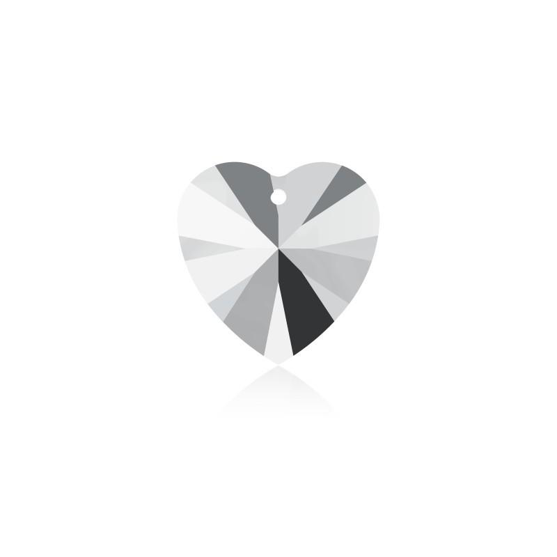 14.4x14MM Crystal AB (001 AB) XILION Сердце Подвески 6228 SWAROVSKI ELEMENTS
