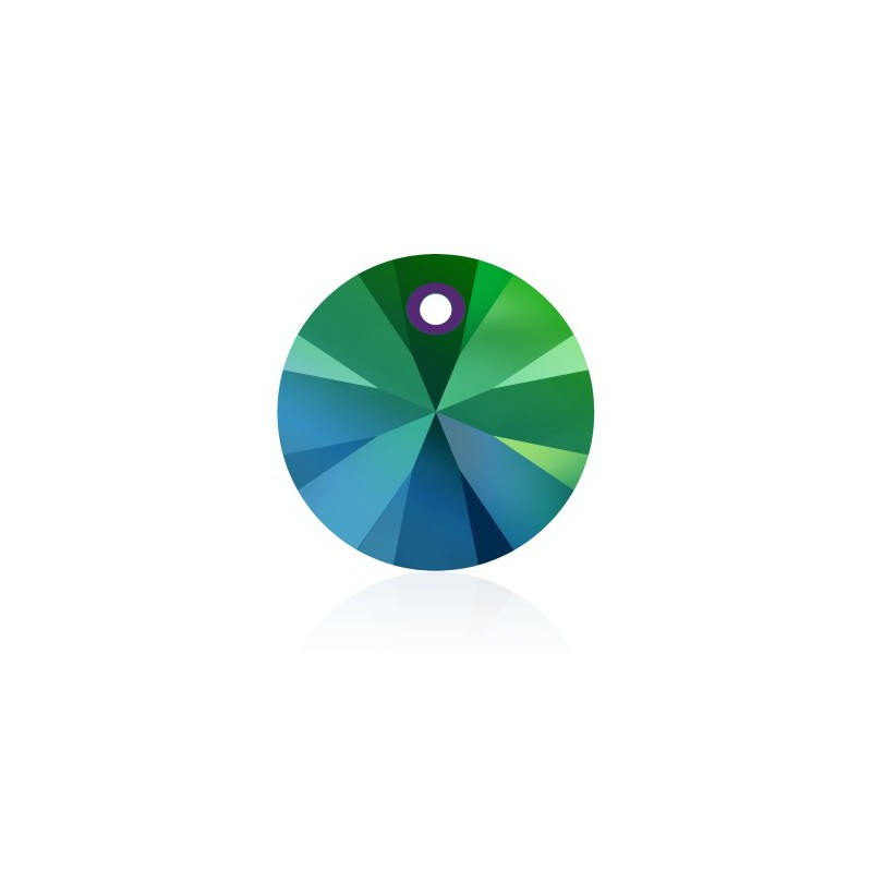 12MM Crystal Scarabaeus Green (001 SCGR) XILION Ripatsid 6428 SWAROVSKI ELEMENTS