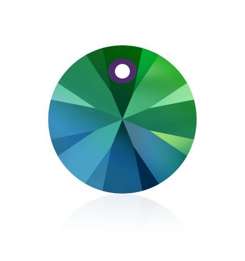 12MM Crystal Scarabaeus Green (001 SCGR) XILION Pendants 6428 SWAROVSKI ELEMENTS