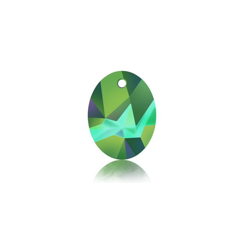 26MM Crystal Light Chrome (001 LTCH) Kaputt Ovaal Ripats 6911 SWAROVSKI ELEMENTS