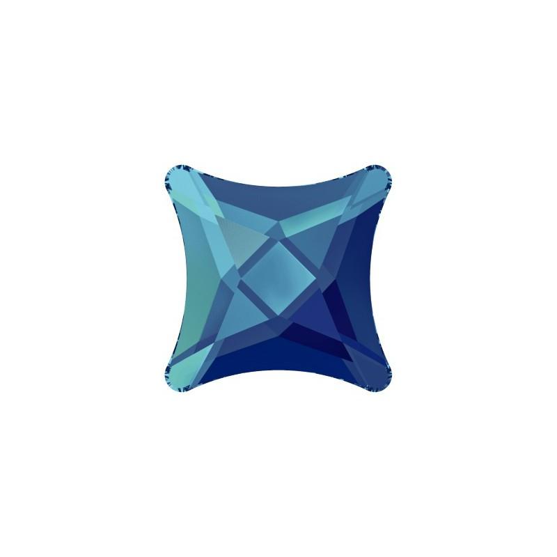 10.5MM Crystal Bermuda Blue F (001 BB) 2494 Starlet Flat Back SWAROVSKI ELEMENTS