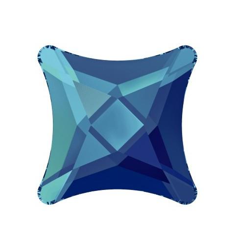 10.5MM Crystal Bermuda Blue F (001 BB) 2494 Starlet Lame Põhi SWAROVSKI ELEMENTS