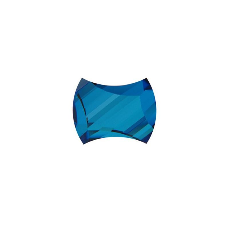 12x9.5MM Crystal Bermuda Blue F (001 BB) 2540 Curvy Flat Back SWAROVSKI ELEMENTS