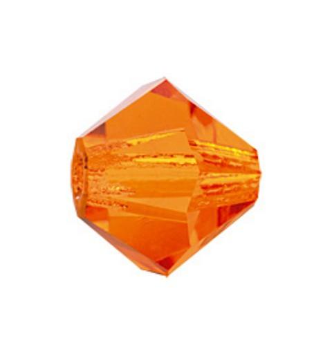 3MM Sun (90310) BiCone Rondell Preciosa Beads