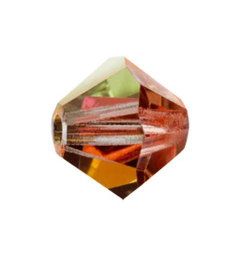 6MM Crystal Marea (28037) BiCone Rondell Preciosa Beads