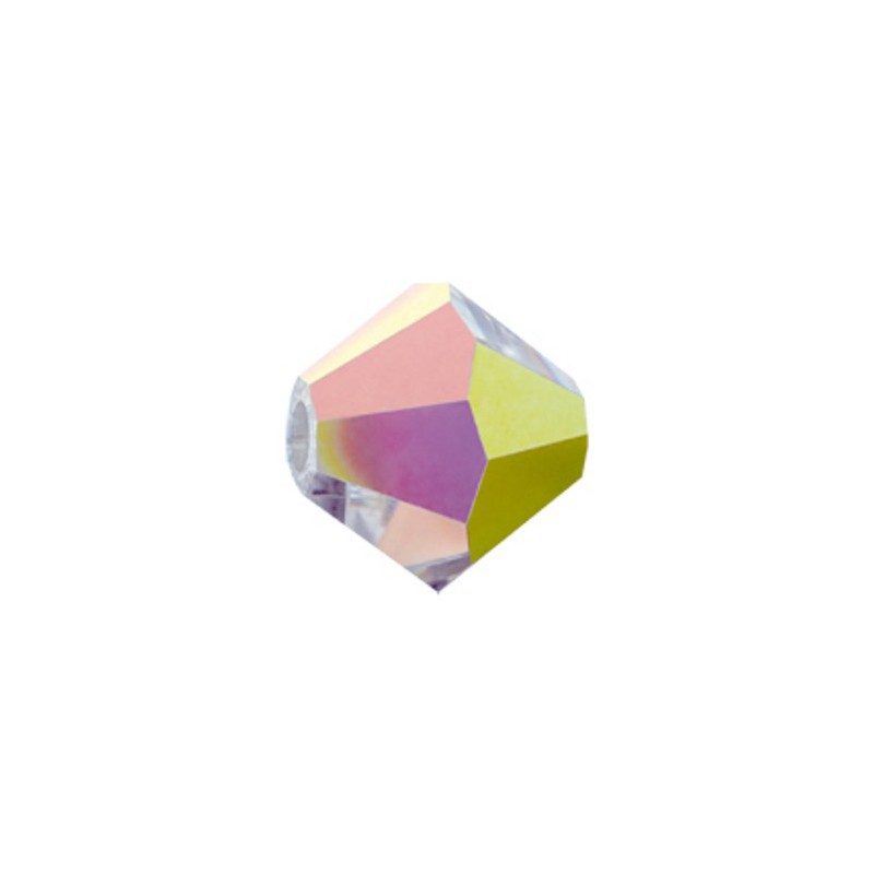 4MM Crystal Vitrail Medium (00030 VM) BiCone Rondell Preciosa бусины