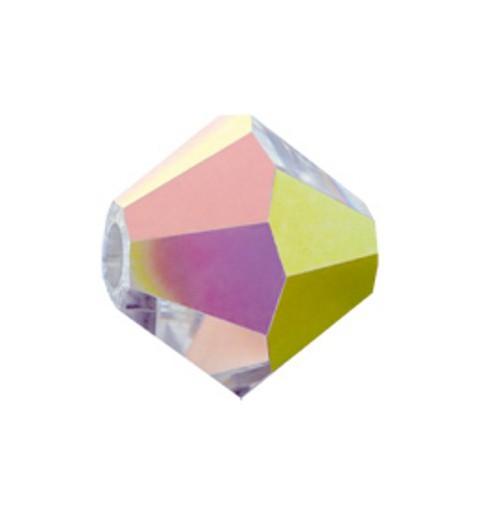 6MM Crystal Vitrail Medium (00030 VM) BiCone Rondell Preciosa helmes