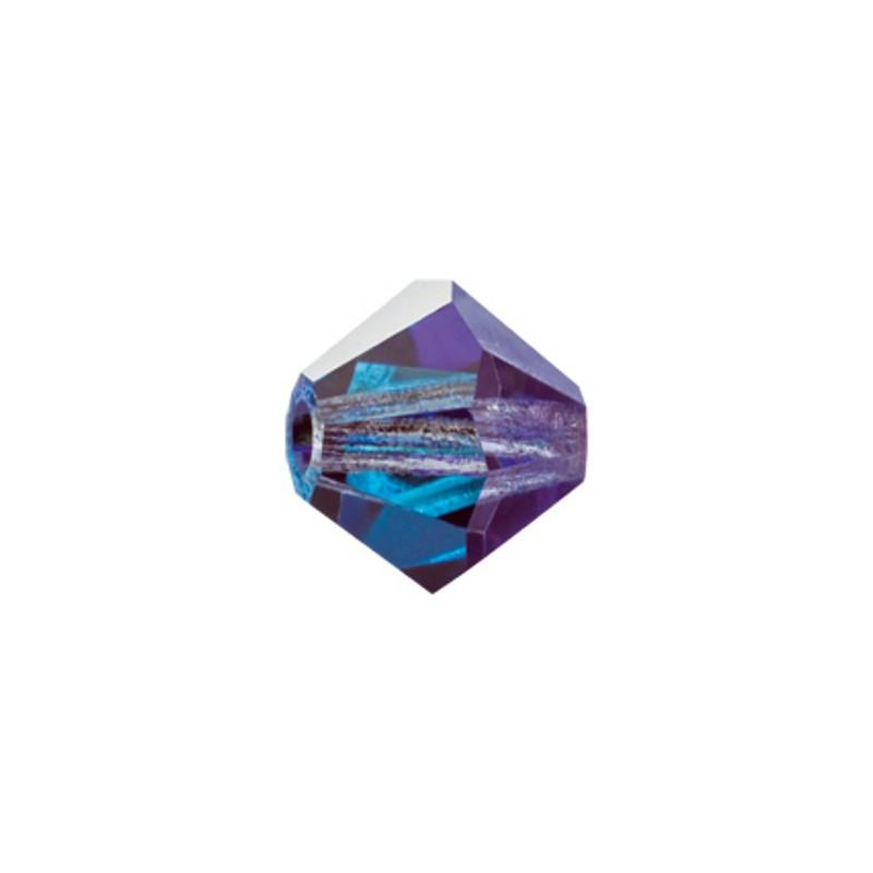 4MM Crystal Marea (28037) BiCone Rondell Preciosa Beads