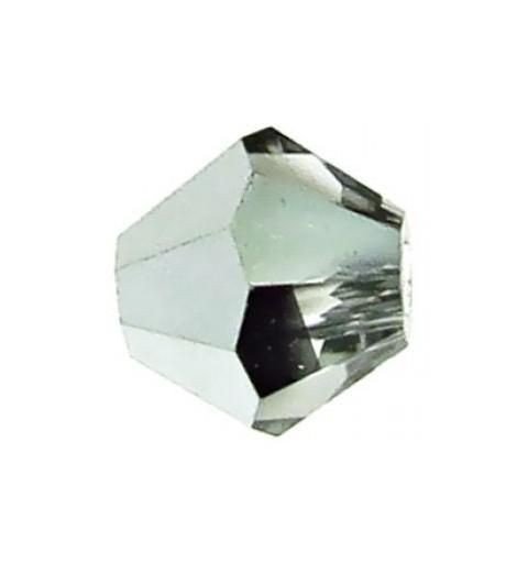 4MM Crystal Labrador Half (00030 LabH) BiCone Rondell Preciosa helmes