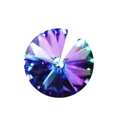 18MM Crystal Heliotrope F (00030 Hel) Rivoli Czech Preciosa Stone