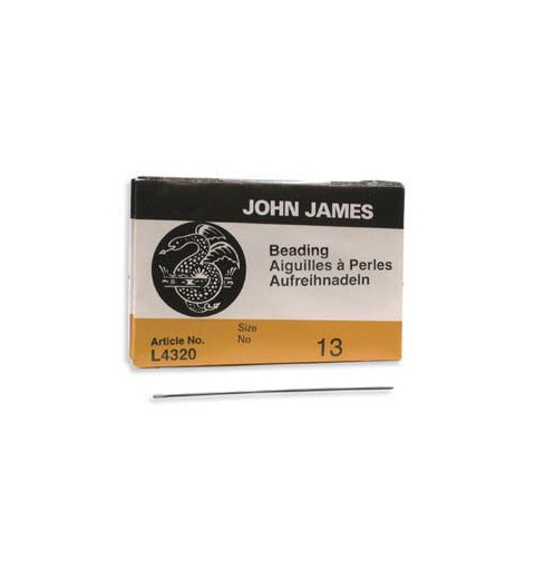 Beading Needle 51mm Size13 L4320 John James