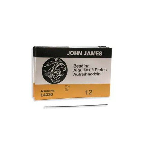 Beading Needle 51mm Size12 L4320E John James