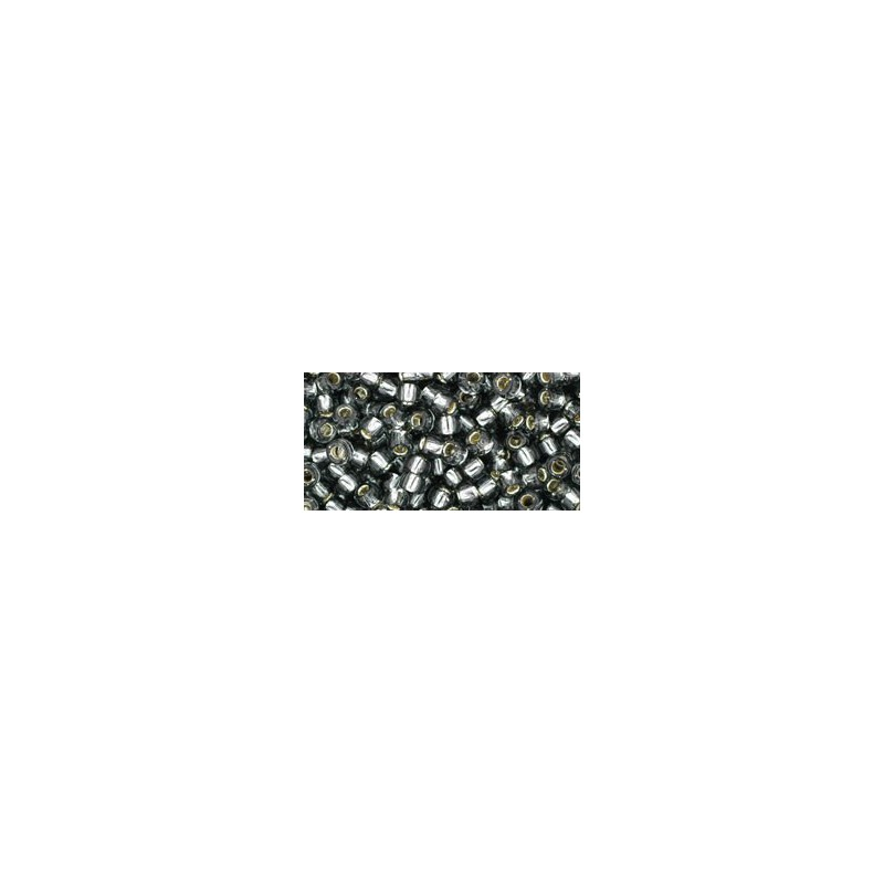 TR-08-29 Silver-Lined Black Diamond TOHO SEED BEADS