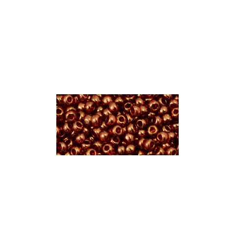 TR-08-329 Gold-Lustered African Sunset TOHO SEED BEADS