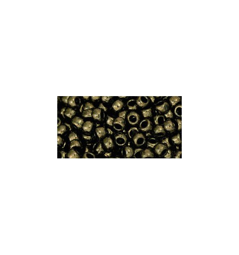 TR-08-422 Gold-Lustered Dark Chocolate Bronze TOHO SEED BEADS