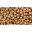 TR-08-332 Gold-Lustered Raspberry TOHO SEED BEADS