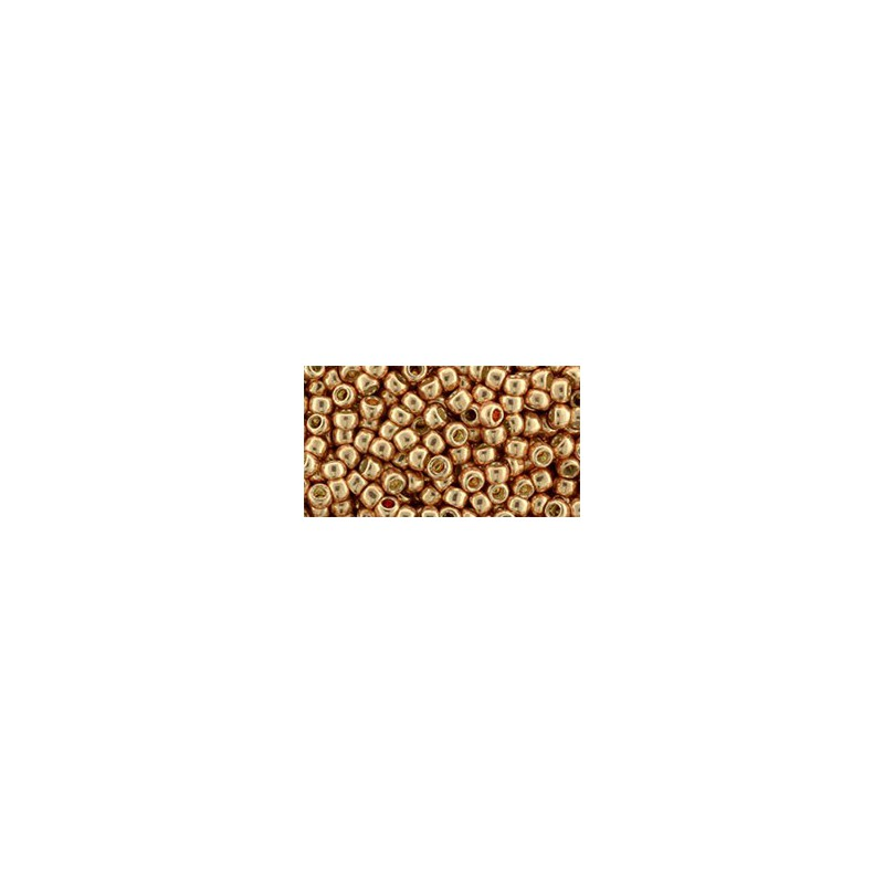 TR-08-332 Gold-Lustered Raspberry TOHO SEEMNEHELMEID