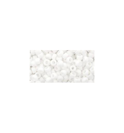 TR-08-761 Matte-Color Opaque White TOHO БИСЕР