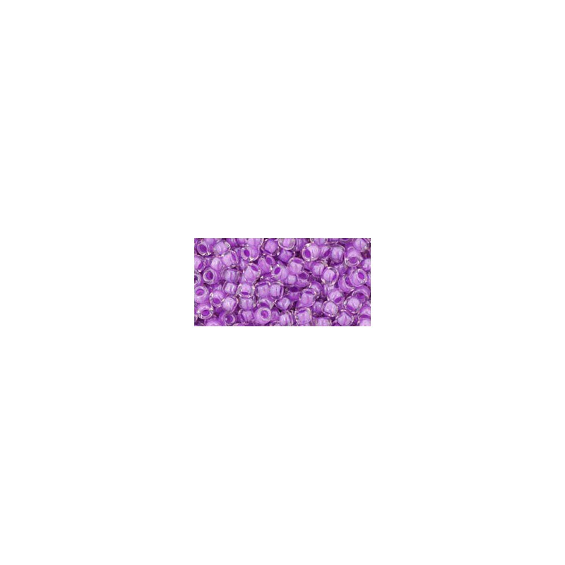TR-08-353 Inside-Color Crystal/Lavender Lined TOHO SEED BEADS