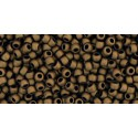 TR-11-49F Opaque-Frosted Jet TOHO Seed Beads
