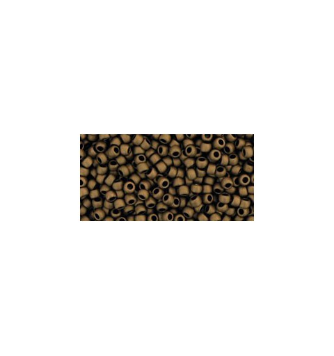 TR-11-221F Frosted Bronze TOHO Seed Beads