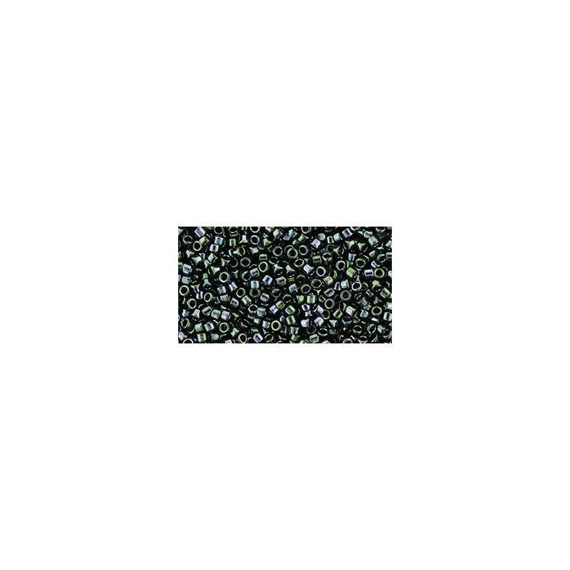 TT-01-89 Metallic Moss TOHO Treasures Seemnehelmed
