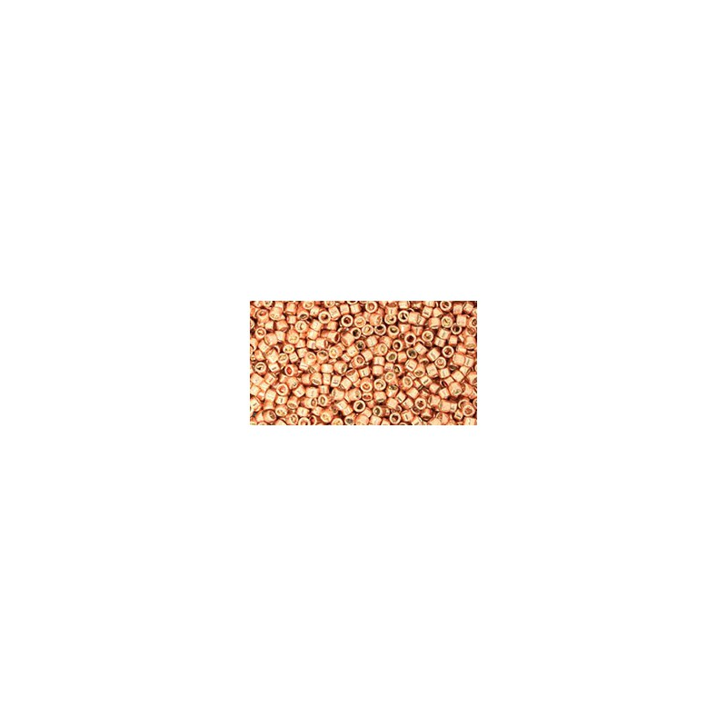 TT-01-330 Gold-Lustered Rust TOHO Treasures Seed Beads