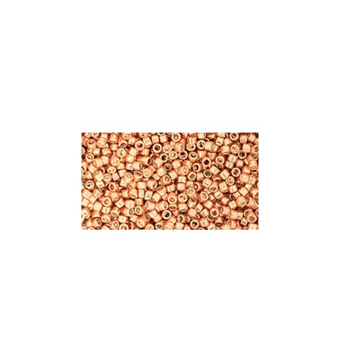 TT-01-551 Galvanized Rose Gold TOHO Treasures Seed Beads