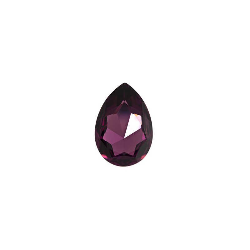 30x20mm Amethyst F (204) Pear-Shaped Fancy Stone 4327 Swarovski Elements