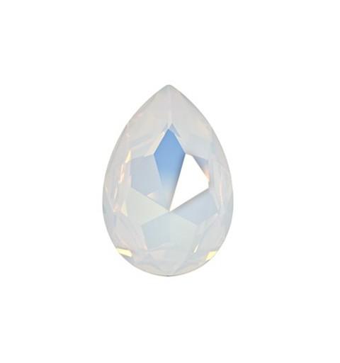 30x20mm Valge Opaal F (234) Pirnikujuline Ehete Kristall 4327 Swarovski Elements