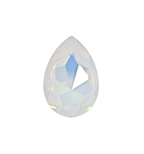 30x20mm White Opal F (234) Pear-Shaped Fancy Stone 4327 Swarovski Elements