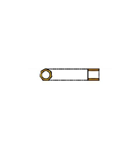 DBC-0041 CrystalSilverLined Miyuki DELICA Hex Cut 11/0 Seed Beads