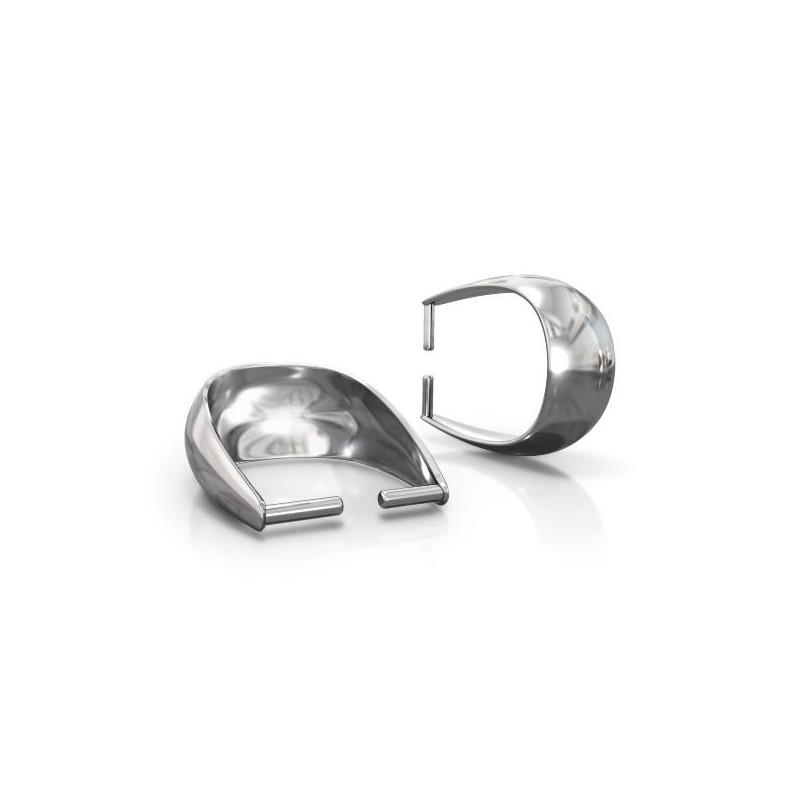 Серебрянная (Стерлинг) позолоченная основа для подвески 12.7X9.2MM