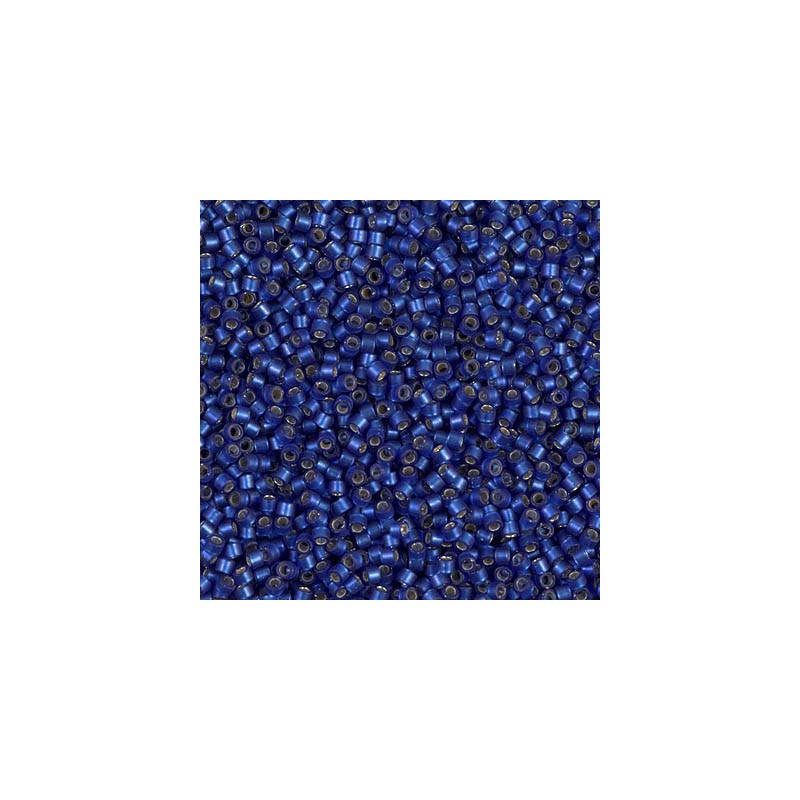 DB-693 Semi-Matte Silver-Lined Midnight Blue Miyuki DELICA 11/0 seed beads