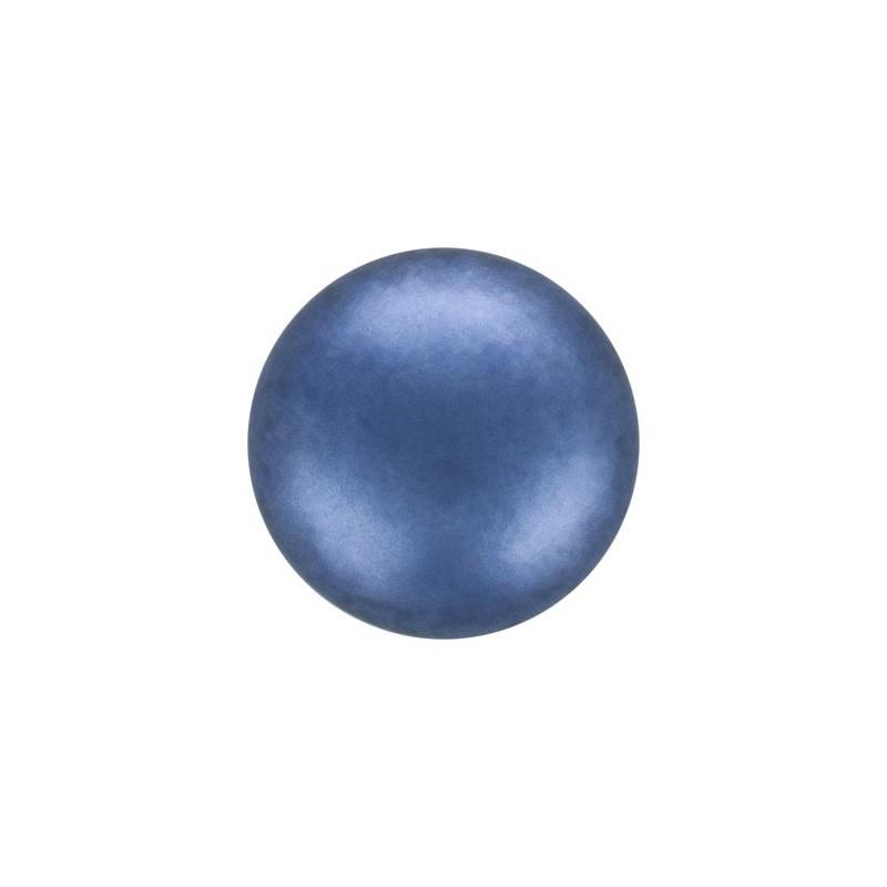 6MM Crystal Petrol Round Half Drilled Pearl (001 600) 5818 SWAROVSKI ELEMENTS