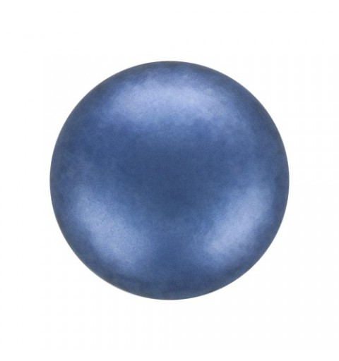 8MM Blue (73300) Pärlmutter Ümmargune Pärl Preciosa