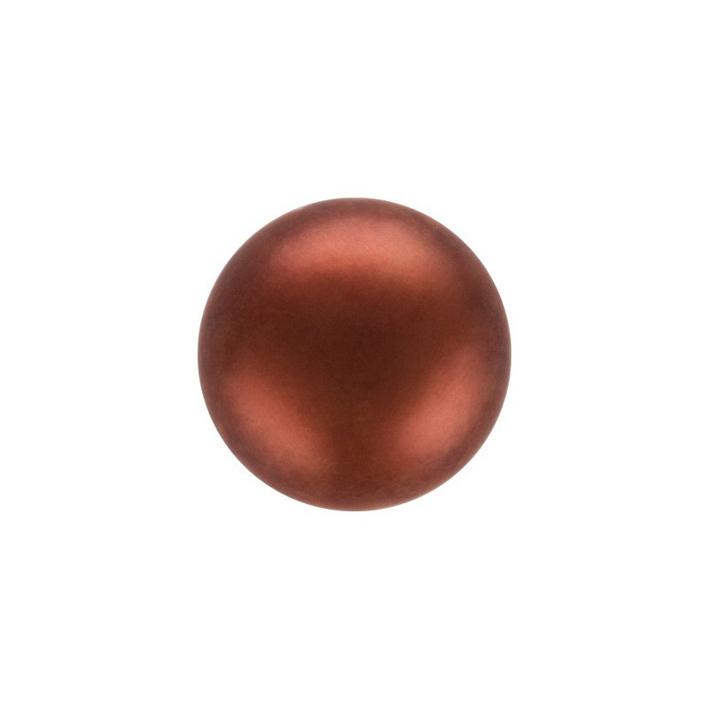6MM Blue (73300) Nacre Pearl round Preciosa
