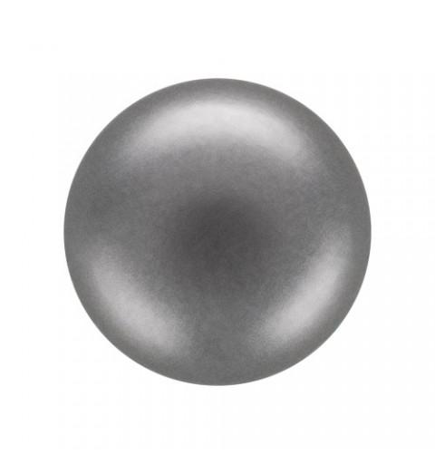 8MM Dark Grey (74500) Pärlmutter Ümmargune Pärl Preciosa
