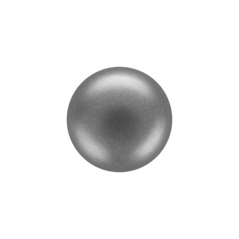 10MM Dark Grey (74500) Nacre Pearl round Preciosa