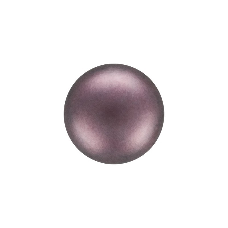 10MM Light Burgundy (79300) Nacre Pearl round Preciosa