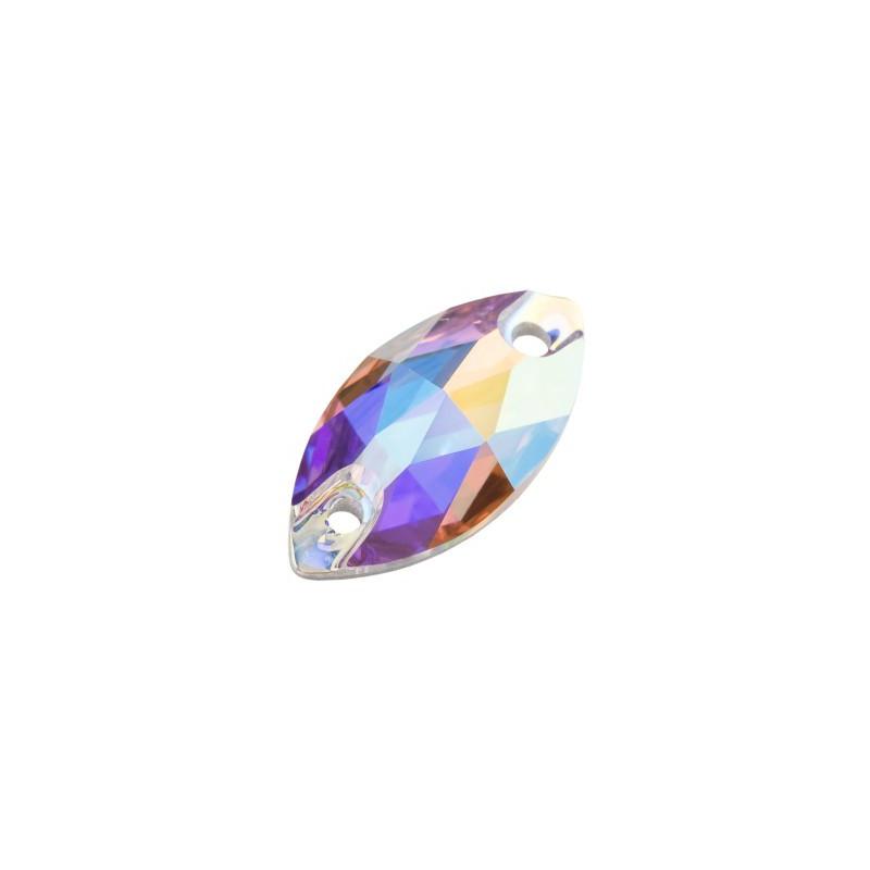 12x7MM Crystal AB S Пришивная Капля Прециоса