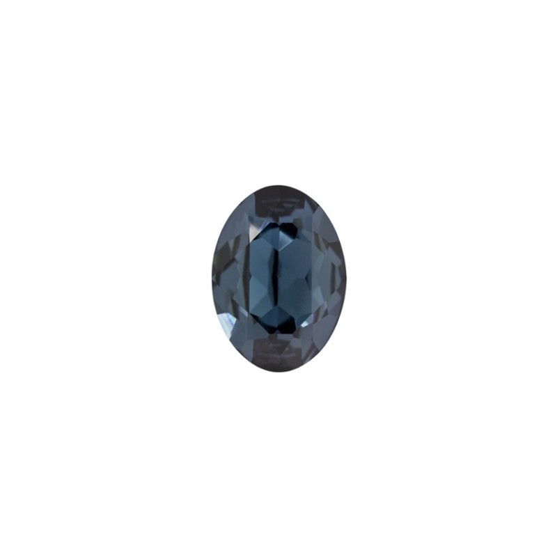 14x10mm Montana F (207) Oval Fancy Stone 4120 Swarovski Elements